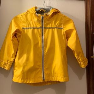 Old Navy Boys Size 4T Raincoat Rain Jacket GUC